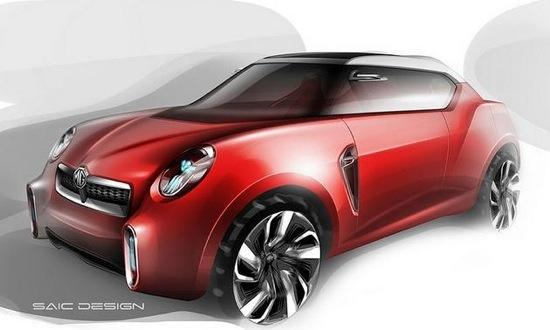 The MG Icon concept takes cues from the MGB GT from the 1960s and '70s. Photo by MG.