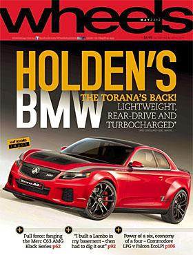 Holden Torana concept from Wheels Magazine (c) Wheels Magazine via Facebook