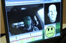 Toyota Face Recognition Technology. Photo by Toyota.