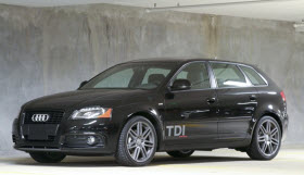 Audi A3 TDI. Photo by Audi AG.