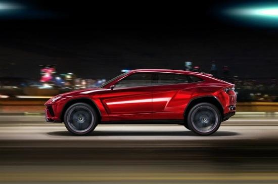 The Lamborghini Urus. Photo from World Car Fans.