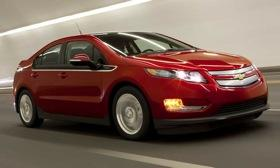 The Chevy Volt. Photo by Chevrolet.