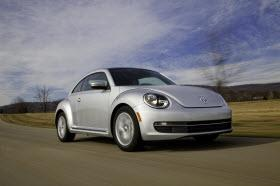 2013 Volkswagen New Beetle. Photo by VW.
