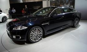 The Jaguar XJ Ultimate. Photo courtesy of Autoweek.