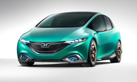 The Honda Concept S. Photo by Honda.