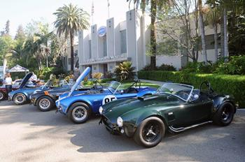Shelby Cobra reunion. Image courtesy Autoblog/Drew Phillips.
