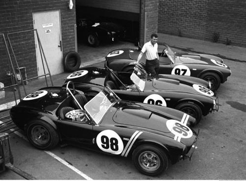 Shelby Cobras. Image courtesy Shelby.
