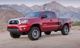 The off-road bits will tack on $5,015 to the sticker of a four-wheel-drive Toyota Tacoma. Photo by Toyota.