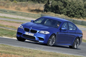 2012 BMW M5. Photo by BMW.
