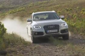 The refreshed Audi Q5. Image from YouTube video posted by worldcarfans.