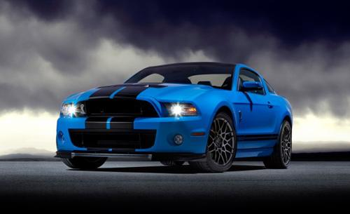 2013 Ford Mustang Shelby GT500. Image courtesy Ford.
