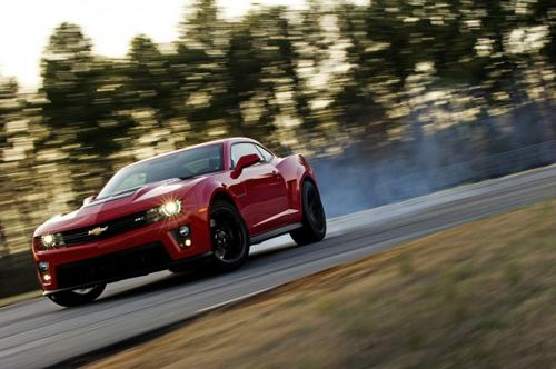 2013 Chevrolet Camaro ZL1. Image courtesy GM.