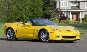 It's Corvette Summer and our man Dale is along for the ride. Photo by GM.