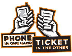 NHTSA Distracted Driving campaign. Image by NHTSA.