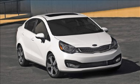 Kia Rio photo by Kia.