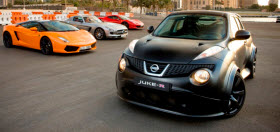 Nissan Juke-R. Photo by Nissan.