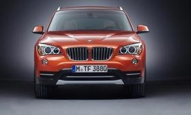 The grille of the 2013 BMW X1. Photo by BMW.