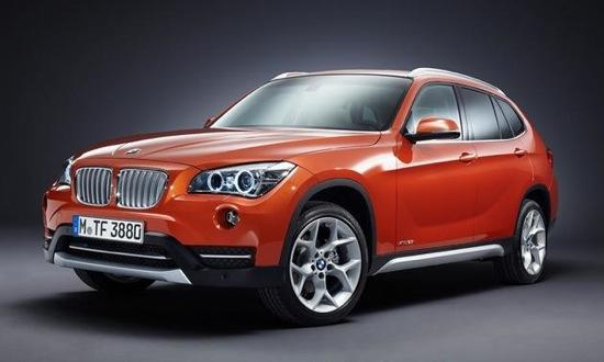 A front view of the 2013 BMW X1. Photo by BMW.