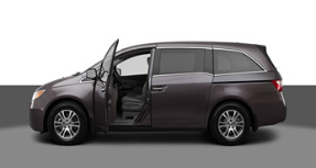 Honda Odyssey photo by Honda.