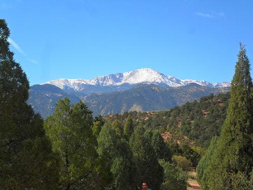 Pikes Peak. Image: Creative Commons license via Wikipedia.