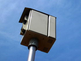 Red light camera. Photo by Flikr user Sterlic/Scott Akerman.