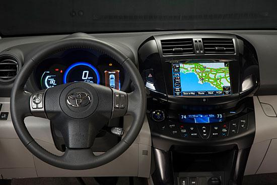 Toyota RAV4 EV interior, (c) Toyota