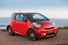 2012 Scion iQ. Photo by Scion.
