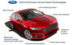 2013 Ford Fusion. Photo by Ford.