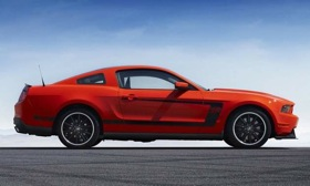 The Ford Mustang Boss 302 Laguna Seca. Photo by Ford.