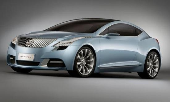 The Riviera concept shown in 2007. Photo by Buick.