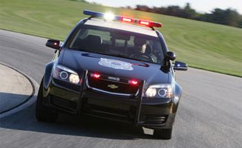 2012 Chevrolet Caprice PPV. Image courtesy GM.