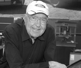Carroll Shelby. Photo from Shelby American.