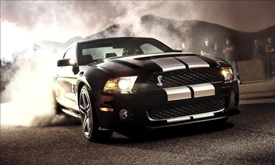 The Ford Shelby GT500 Mustang. Photo by Ford.