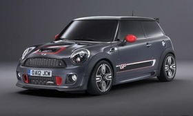 Mini will unveil the Mini Cooper S John Cooper Works GP at the 2012 Mini United Festival. Photo by Mini.&#xA;