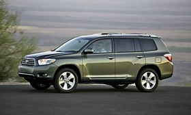 The 2008 Toyota Highlander. Photo by Toyota.