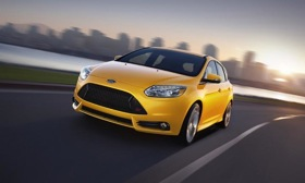 The Ford Focus ST. Photo by Ford.