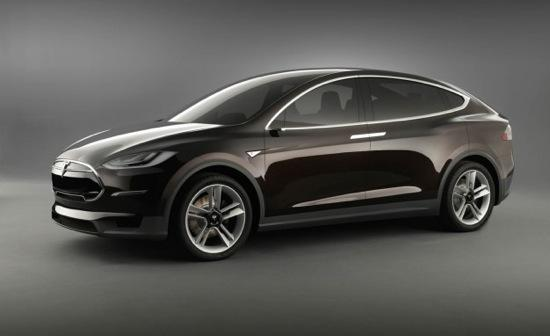 The Tesla Model X crossover. Photo by Tesla.
