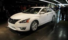 The first 2013 Nissan Altima rolled off the assembly line in Tennessee on May 15. Photo by Nissan.&#xA;&#xA;
