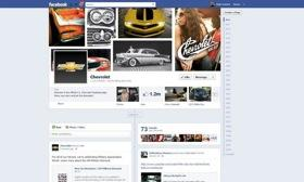 General Motors will continue to maintain pages for its brands on Facebook. Image courtesy of Autoweek.