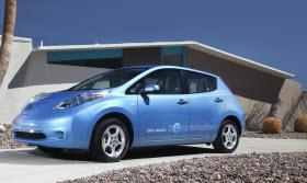 2012 Nissan Leaf. Photo by Nissan.
