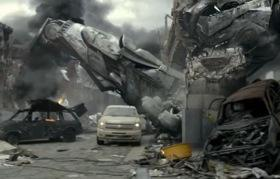 An image from the Chevrolet Silverado Super Bowl commercial in 2011.