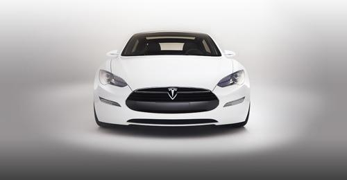 2013 Tesla Model S. Image courtesy Tesla.