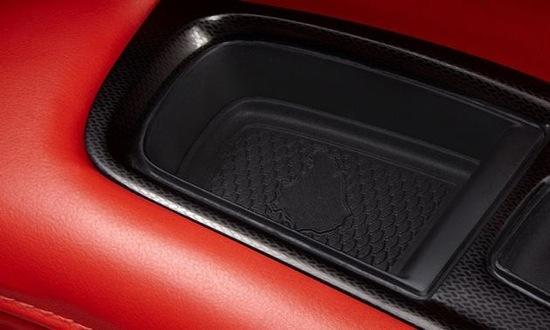 Look closely: That's the Nurburgring in the door panel. Photo by Dodge.