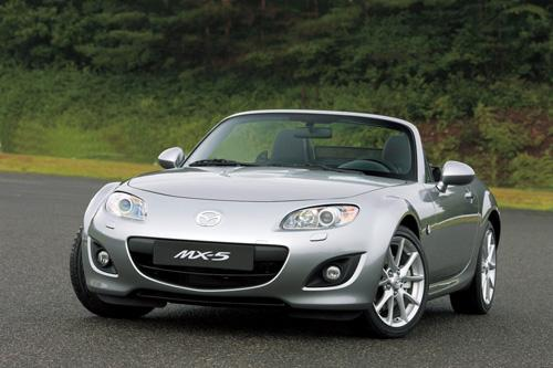 2009 Mazda MX-5. Image courtesy Mazda.