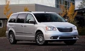 Chrysler plans to replace the Town & Country minivan with a crossover in 2014. Photo by Chrysler.