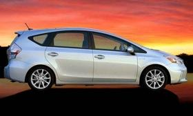 The Toyota Prius V. Photo by Toyota.