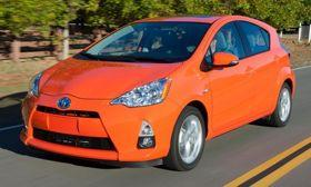 The Toyota Prius c. Photo by Toyota.