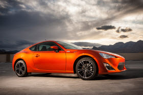 2013 Scion FR-S. Photo by Toyota.