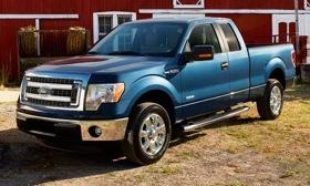 Ford redesigned the grille of the 2013 F-150. Photo by Ford.&#xA;
