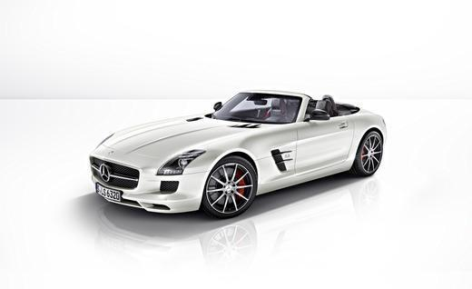 The 2013 Mercedes-Benz SLS AMG GT roadster. Photo by Mercedes-Benz.